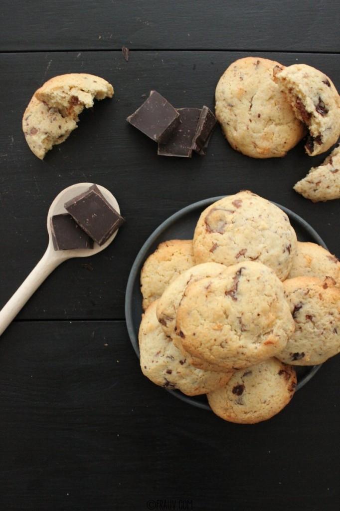 Cookies mit dreierlei Schokolade_IMG_9770
