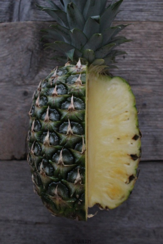 Ananassorbet mit Minzpesto_IMG_1606